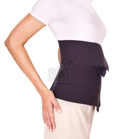 Trauma of back. Lumbar braces.