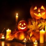 Halloween pumpkin lantern. Decoration....