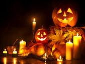 Lucerna Halloween dýně