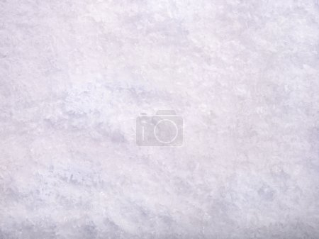 Texture of white snow.