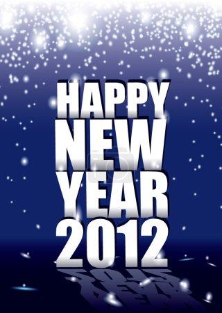 New year 2012 spark