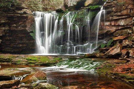 Elakala Falls in West Virginia