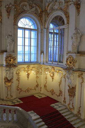 Part of main Staircase of the Winter Palace