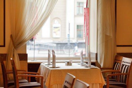 Photo pour Set de tables pour repas - image libre de droit