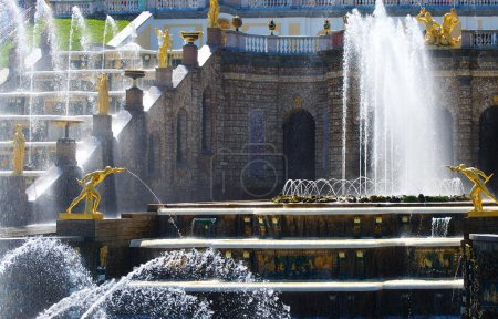 Grand Cascade of fountains in