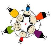 šťastné rodiny společně, rámec pro návrh