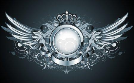 Heraldic frame