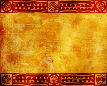 Photo for Horizontal background with American Indian traditional patterns - Royalty Free Image