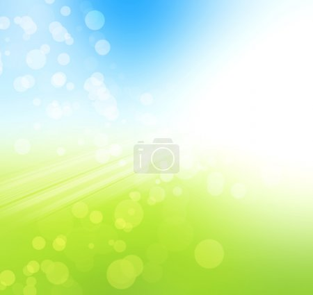 Photo for Nature bokeh . Spring background - Royalty Free Image