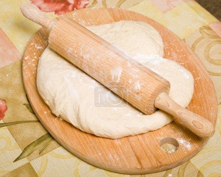 Yeast dough preparation