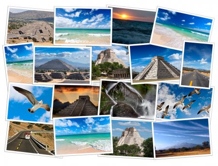 Photo for Mexico photos collage - Royalty Free Image