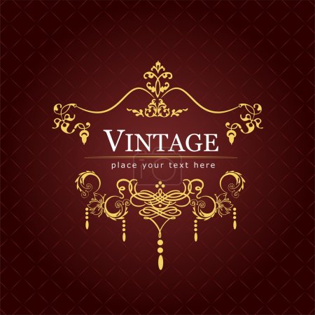 Invitation vintage card. Wedding or Valentine`s Da...