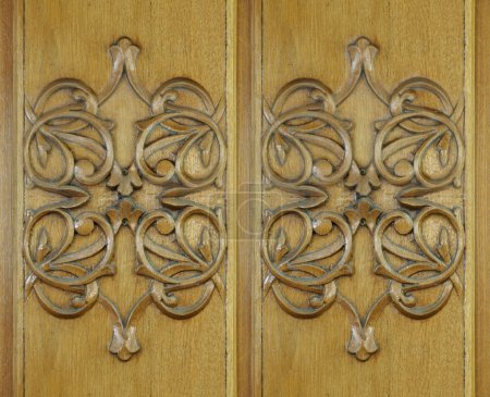 Wood carving, texture, background