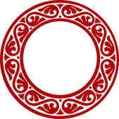 Decorative circle framework