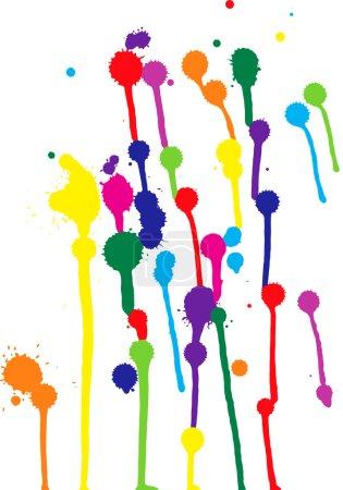 Colorful blots