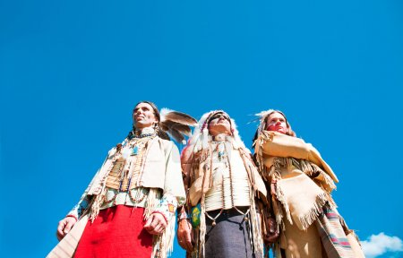 Group of North American Indians