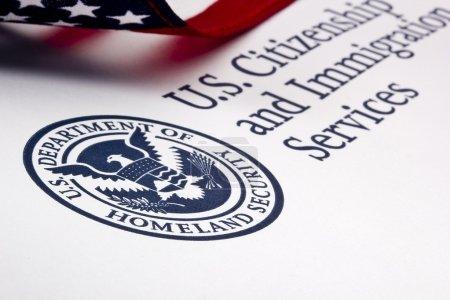 Photograph of a U.S. Department of Homeland Securi...