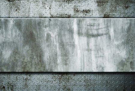 fond métallique