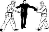 Karate kyokushinkai skica bojová umění a bojové sporty
