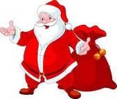 Glücklich Santa