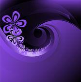 Spiral purple background