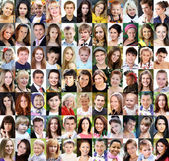 Portrét krásných mladých