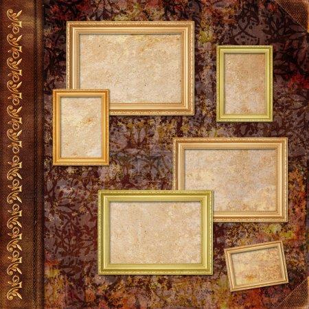 Photo pour Album photo vintage - image libre de droit