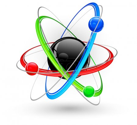 Atom color symbol