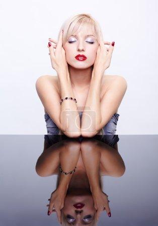 Beautiful girl in jewellery