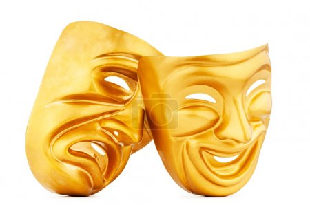 Photo for Masks with the theatre concept - Royalty Free Image