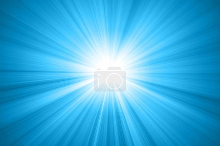 Foto de Abstracto sol con rayos - Imagen libre de derechos