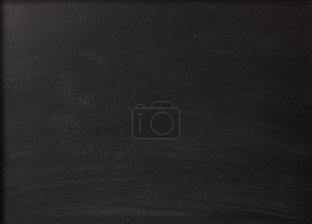 Photo for Blank chalkboard background - Royalty Free Image