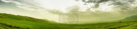 Photo pour Paysage de montagne panoramique - image libre de droit