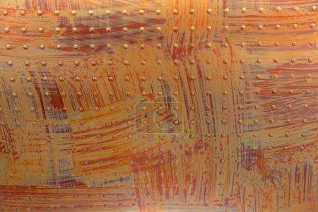 Orange surface in rivets