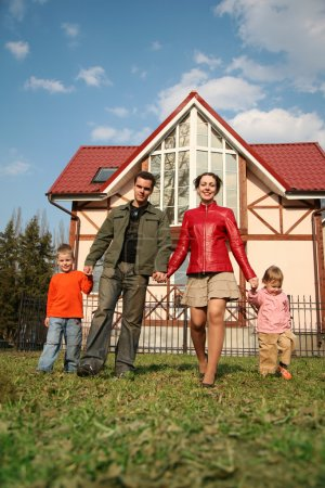 Photo for Family house - Royalty Free Image
