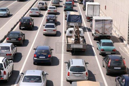 Car sity traffic