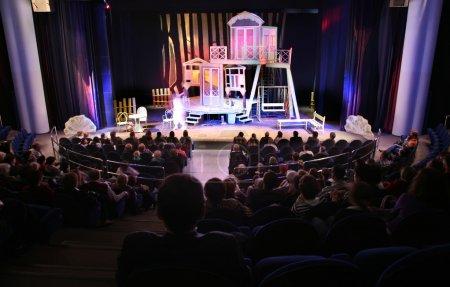 Photo pour Dans le théâtre - image libre de droit