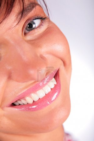 Smile face girl