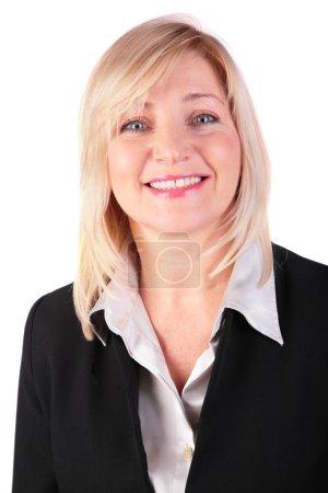 Portrait of middleaged businesswoman
