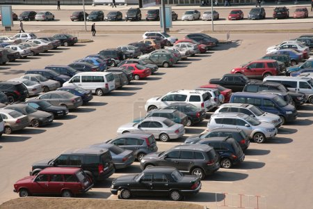 Automobiles on parking