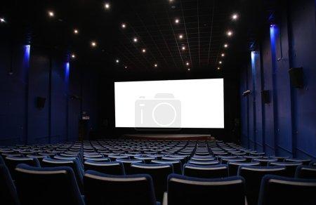Photo pour Salle de cinéma - image libre de droit
