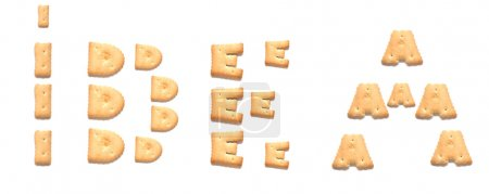 Cookie, alphabet
