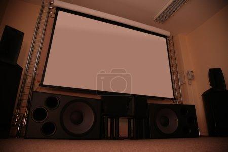 Photo pour Home cinéma - image libre de droit
