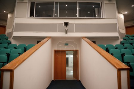 Interior of hall for conferences