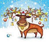 Christmas deer 2