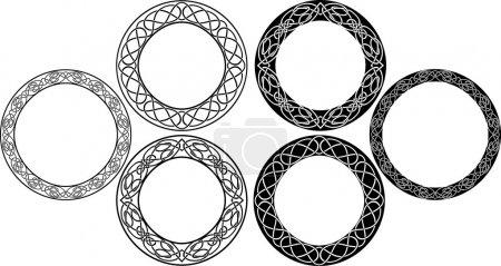 Celtic circle set