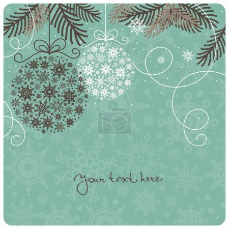 Photo for Retro Christmas background - Royalty Free Image