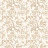 Bezešvé květinový vzor s růží