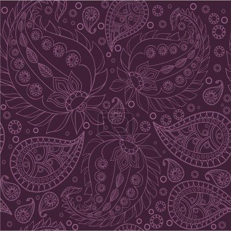 Paisley pattern, seamless