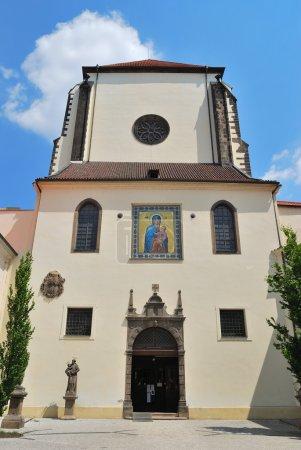 Prague. Virgin Mary Snow church
